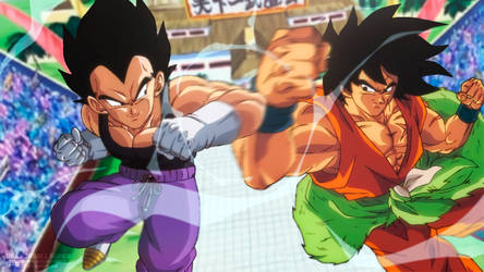 Now is the time for fighters Vegeta and Broly!!!