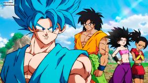 Goku's new students