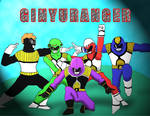 Power Rangers Ginyu Force
