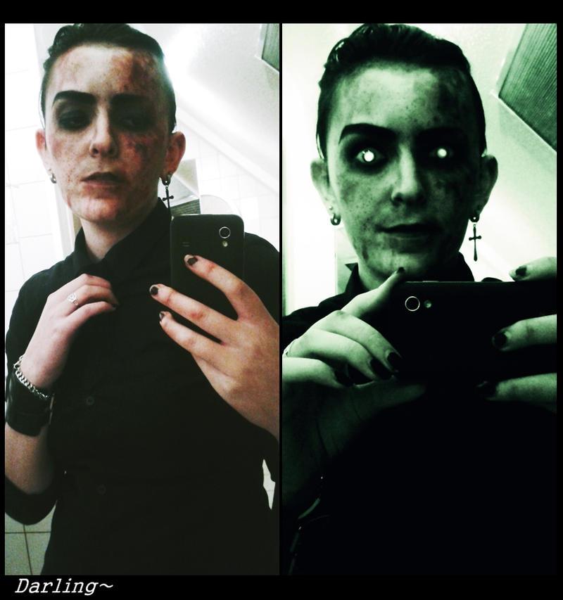 [ OUTLAST ] Eddie Gluskin Cosplay Makeup Test by AmmyxDante