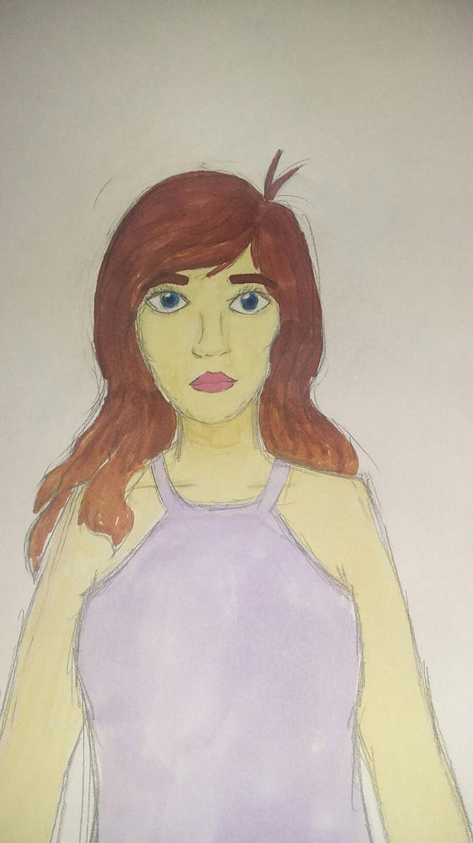 Girl by ZaffreBat17