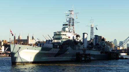 HMS Belfast by DavidKrigbaum