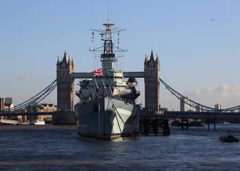 The Ultimate Tower Defence (HMS Belfast) by DavidKrigbaum