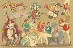 Fighting girls - Capcom Fighting Tribute by vf02ss