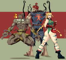 Street Fighter 2 by vf02ss
