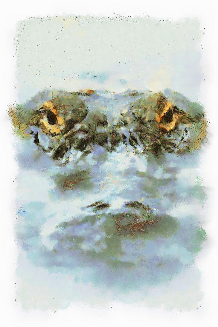 Crocodile by vikirikiki