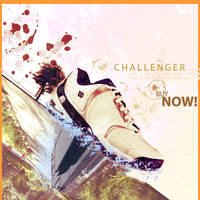 Challenger advertise by yuukki