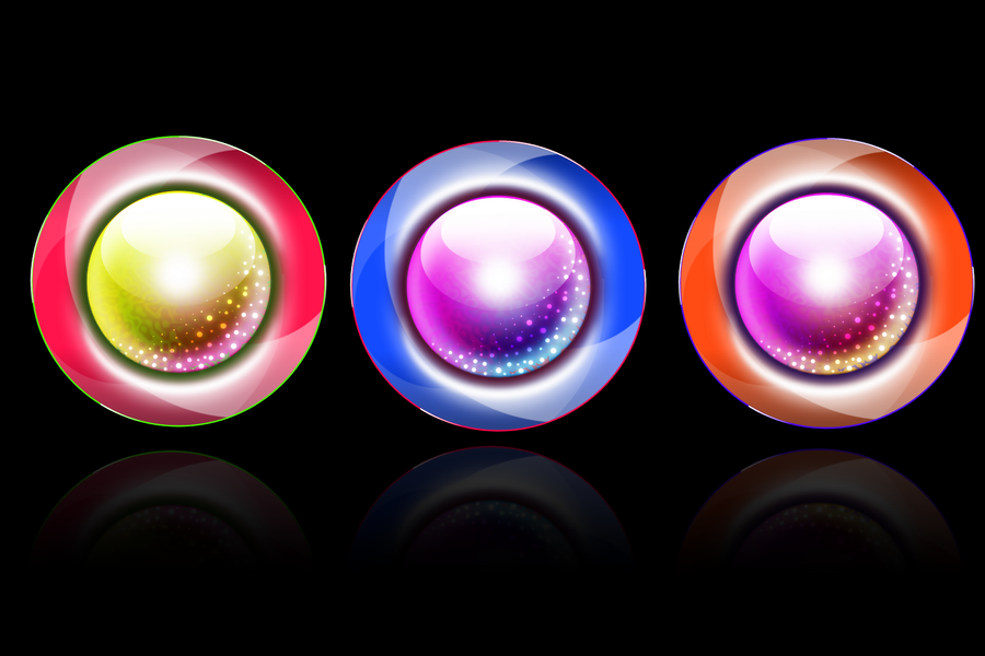 Magical Orbs by HelenLight