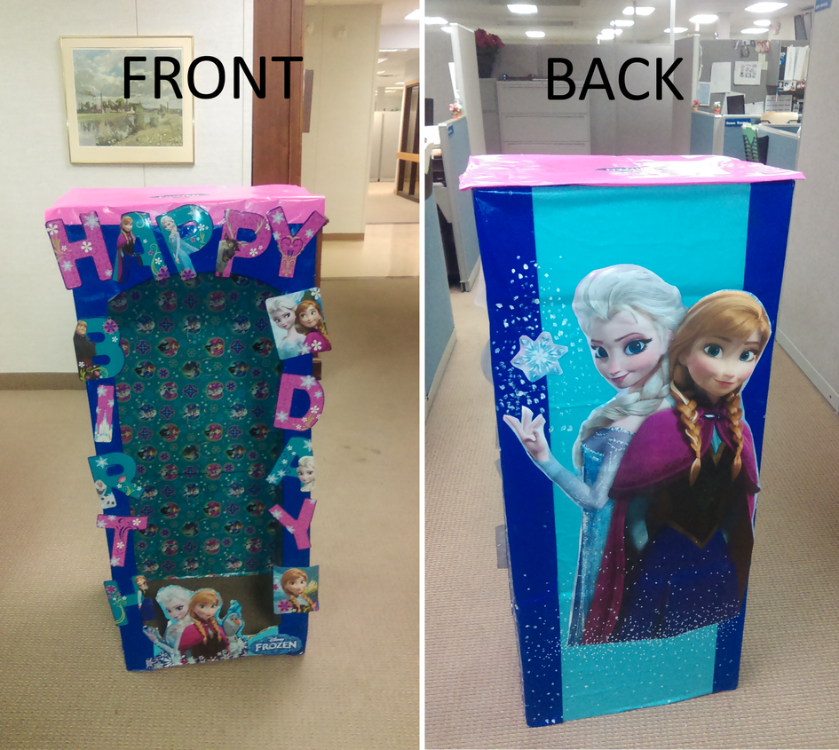 Frozen Doll Box by HelenLight