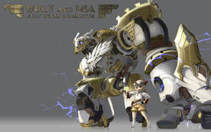 Bolt and Nia (Seven Knights) by ntny