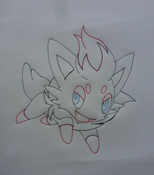 Zorua - Pokemon by Guardian-Ervid