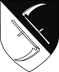 Sigfryd Harlaw personal arms