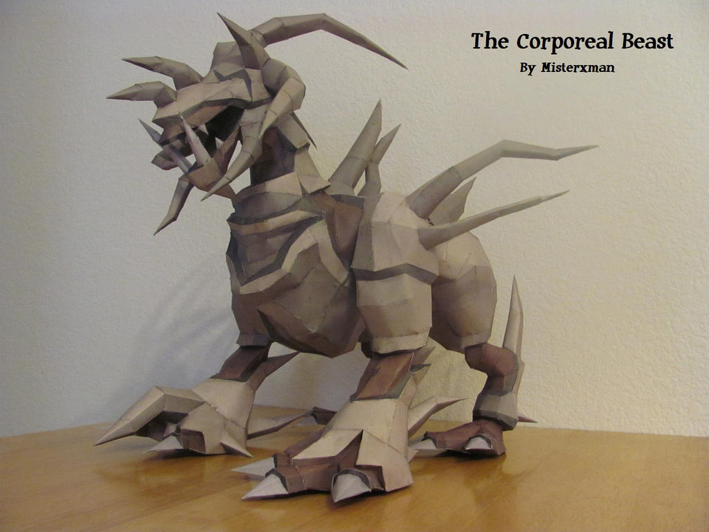 The Corporeal Beast by misterxman