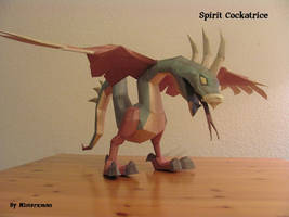 Spirit Cockatrice by misterxman