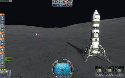 Kerbal Space Program - Mun Lander