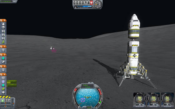 Kerbal Space Program - Mun Lander