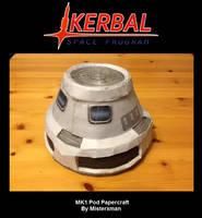 Kerbal Papercraft - MK1 Pod
