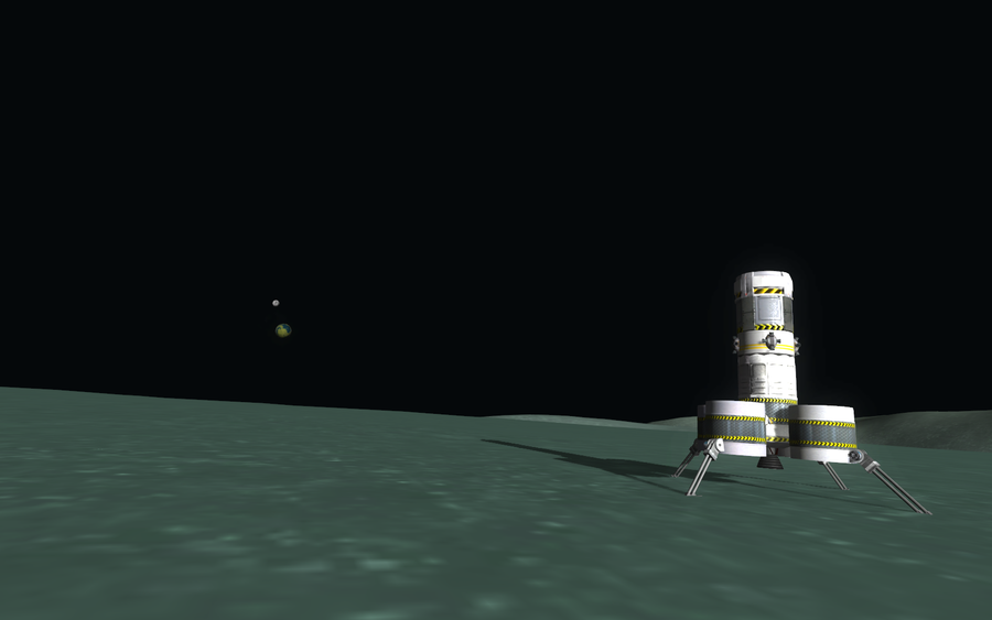 Kerbal Space Program - View from Minmus by misterxman on ...