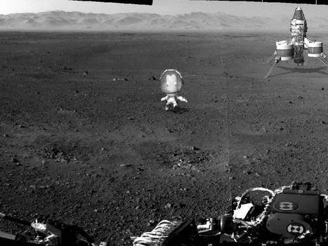 Mars Curiosity: Kerbal Edition