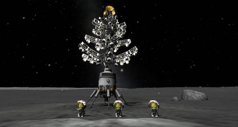 Merry Christmas from the Mun!