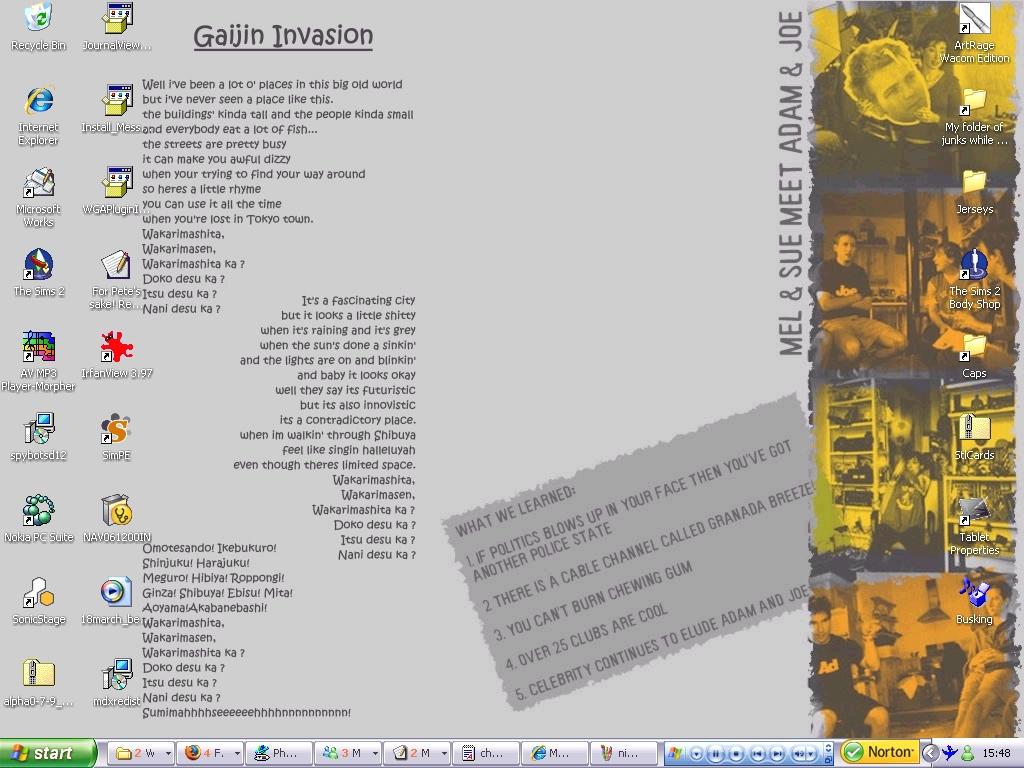 Gaijin Invasion Desktop by Peccadillos