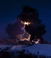Volcano Lightning by Karkit