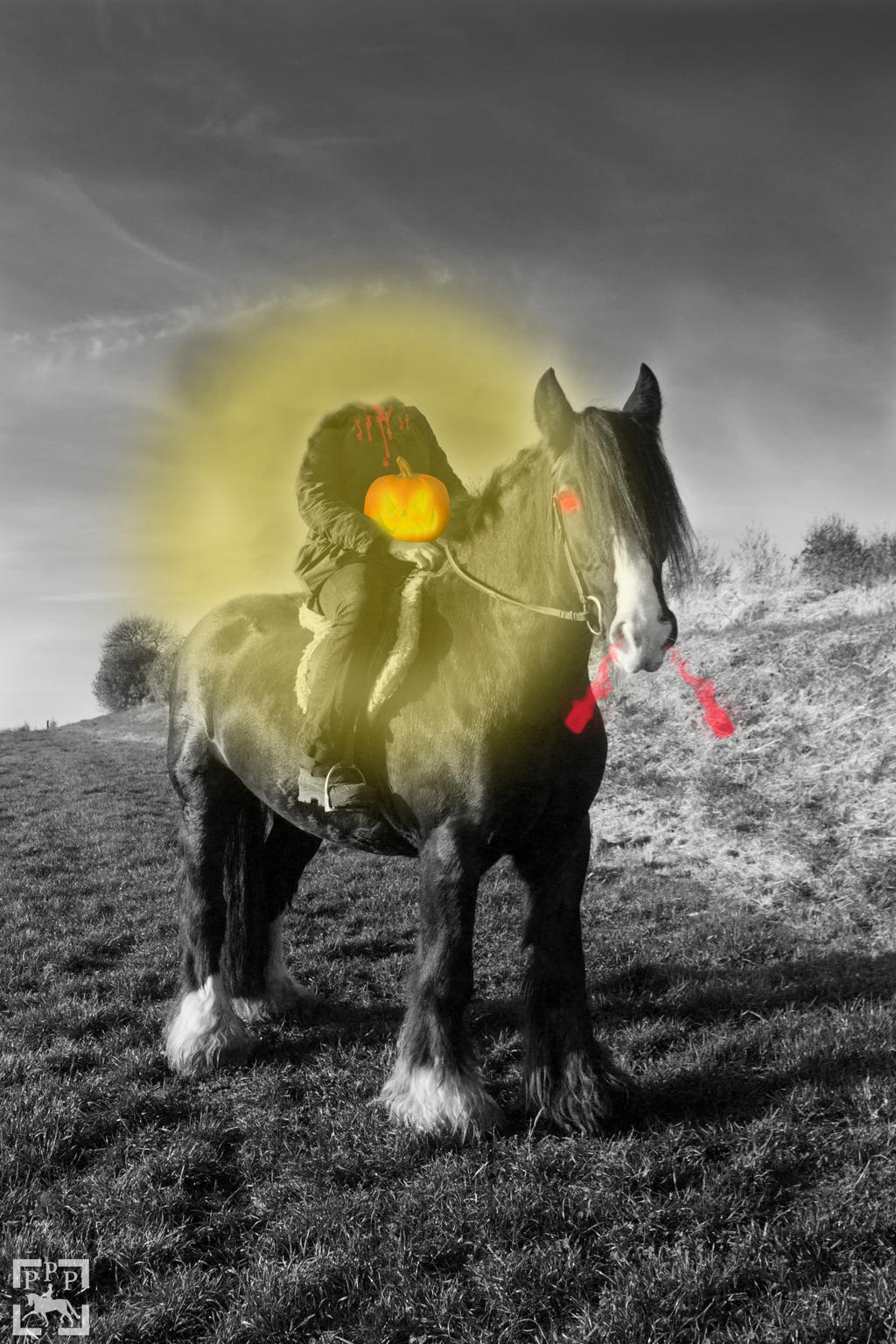 Headless Horse(wo)man by HKW1994