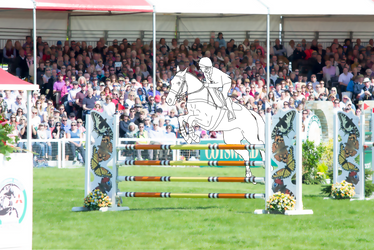 Eventing | Showjumping 1 (Free Lineart)