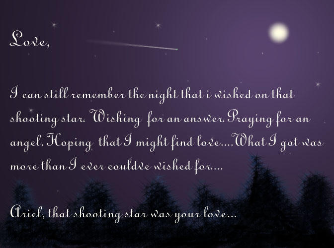 i need a shooting star galaxy quote - photo #13