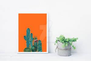Cactuses summer print