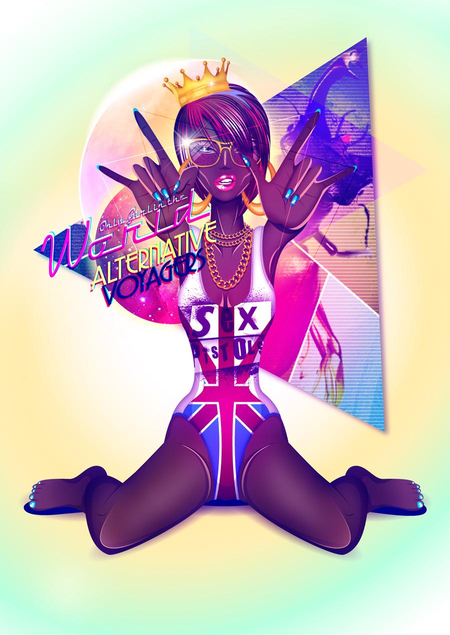 Alternative Voyager Vl - ONLY GIRL by jaalondon