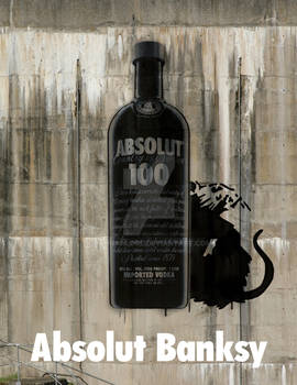 Absolut Banksy Ad