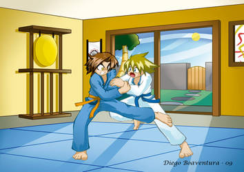 Judo by DiegoHunter