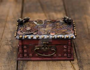 Steampunk Treasure Box