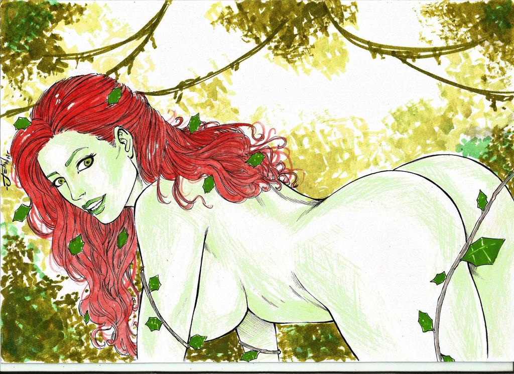 Poison Ivy SexyArt ByJean17 by JeanArtes