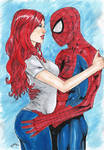 Spider Man and Mary Jane