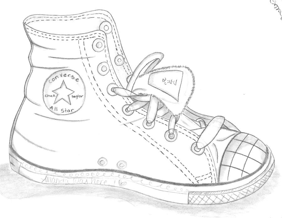 The Shoe Store Coloring Pages
