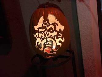 Davy Jones Pumpkin Carving