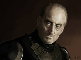 Portrait of Tywin Lannister from Game of Thrones by s3lwyn