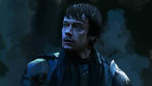 Portrait of Theon Greyjoy by s3lwyn