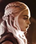Portrait of Daenerys Targaryen