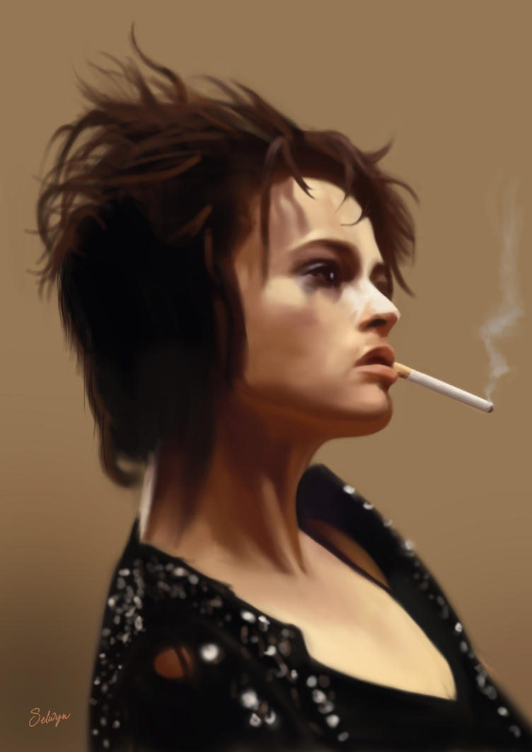 Helena Bonham Carter - Fight Club by s3lwyn