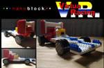 Nanoblock SEGA Virtua Racing car by BellHillMayor