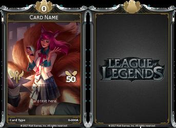 League of Legends TCG (Fan Made) by maha0