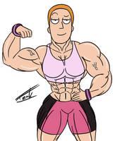 Summer Smith Muscular Sexy