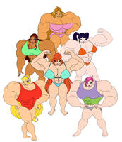 Muscle Winx Compile