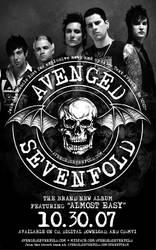 Avenged Sevenfold Flyer