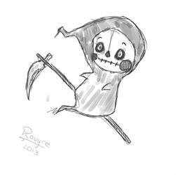 Chibi Reaper - smaller