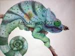 Chameleon Pointillism