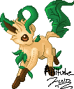 Leafeon Plushie by AttitudeTwo